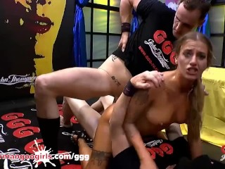 Hot Blondes Two of More Holes Filled GGG DP Compilation